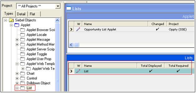 "Scenarios to Display ""Total Revenue"" on Account->Opportunity List Applet (1/6)"